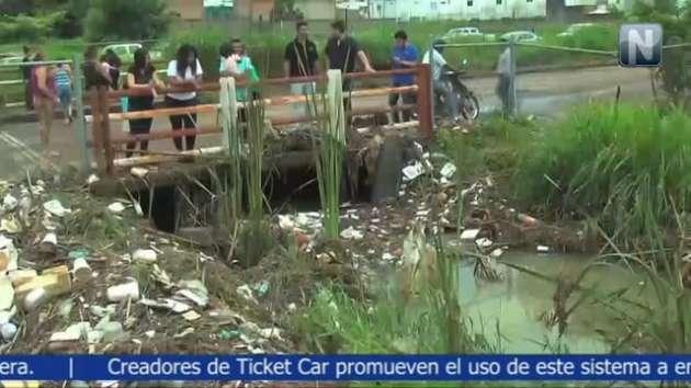 Se requieren 25 millones de pesos para construir un canal más amplio en la zona de la cantera