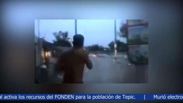 Muere arrastrada por el agua en Guadalajara